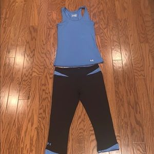 Under Armour fitted heat gear outfit